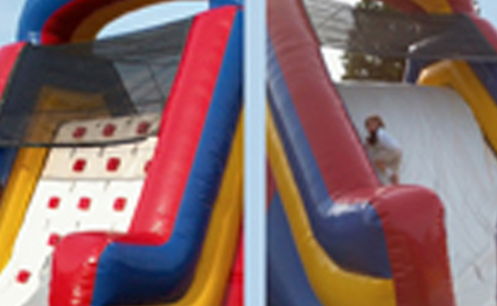 funtimeinflatablesnc-climber-slide-inflatable-rental