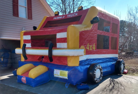 large Monster Truck - Funtime Inflatables-NC