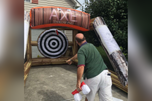 Funtime-Inflatables-NC-Axe-Throwing-rental